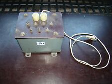 TRANSFORMATOR  ISOLATION TRANSFORMER TRENNTRAFO TELECOM  500V 300VA