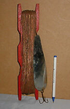 Antique Fishing Hand Line With Copper Line