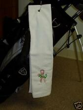 Breast Cancer Pink Ribbon Golf Towel