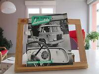 REVUE TECHNIQUE AUTOMOBILE VEHICULES UTILITAIRES 1961 BE/TBE