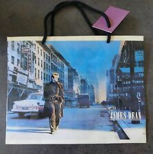 James Dean medium Street Scene Gift Bag 1989 New