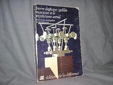 galilée marxiste et le mysticisme astral par Deghaye