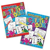 A4 Jumbo Activity Book Colouring Drawing Word search Educational Numbers Letters