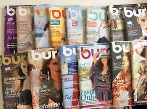Burda Style Pattern Magazines x 14 all with patterns