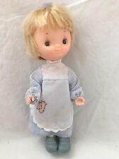 """Knickerbocker Betsey Clark Hallmark Cards Character Doll Blue Dress 6"""""""