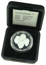 Netherlands - 50 Gulden 1990 - PROOF  .925 silver  PP silber   + box, CoA