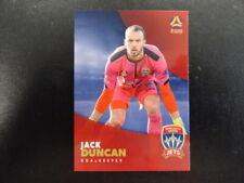 2017/18 TAP'N'PLAY A-LEAGUE CARD NO.124 JACK DUNCAN NEWCASTLE UNITED