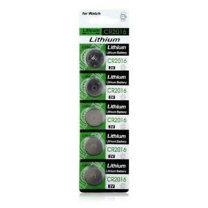 5 Pcs CR2016 LM2016 BR2016 DL2016 KCR2016 3V Button Coin Cell Battery Bulk Lot