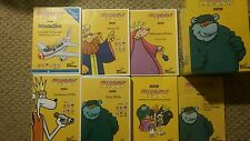 Muzzy Bbc Multilingual Language Lot (Spanish, French, German, Italian, English)