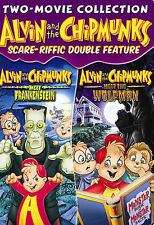 Alvin and the Chipmunks Scare-Riffic (DVD, Double Feature) HALLOWEEN