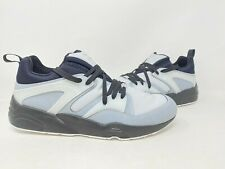 NEW! Puma Men's Blaze Of Glory Size:11 Lace Up Shoes Blk/Gry #36144701 148O k