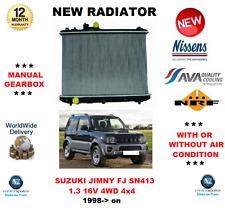 FOR SUZUKI JIMNY FJ SN413 1.3 16V 4WD 4x4 1998-> NEW RADIATOR ** OE QUALITY **