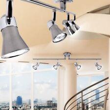 Brilliant G15932/77 Jupp lampada da soffitto a 4 faretti da 50W in ferro cromato