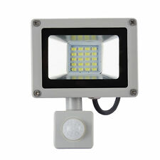 20W PIR Motion Sensor SMD LED Cool White Floodlight Security Lamp Garden Outdoor