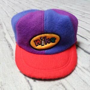 Vintage 90s Nike Fleece Pinwheel Hat Cap Toddler