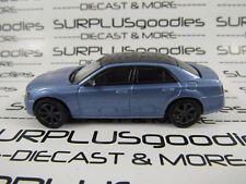 GREENLIGHT 1/64 Scale LOOSE MOPAR Blue 2013 CHRYSLER 300 SRT8 Diorama Car