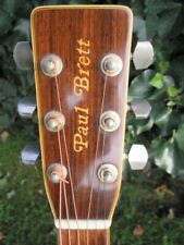 Paul Brett Aria Guitar (1980) + Taylor bag.  Rare and collectable.  Ships free*
