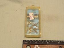 Vintage Montgomery Ward Brass 3-way Swivel, Size 4, Qty 5