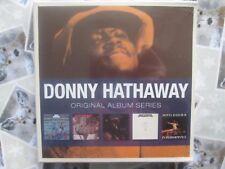 Donny Hathaway – 5 CD Box Set Original Album Series Rhino / Atlantic NEW