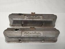 Ford FE Big Block Aluminum Finned Valve Covers Cobra 352 390 406 427 428 J16313