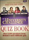 Paperback copy of 'The University Challenge Quiz Book' with over 3500 questions