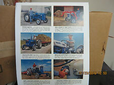 FORD TRACTOR ADVERTISEMENT   SUPER DEXTA, 2000,4000, SELECTO SPEED