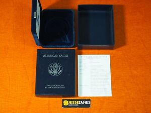 NO COIN: 1997 P PROOF SILVER EAGLE BOX/COA OGP ONLY BUY 2 GET 3RD FREE!