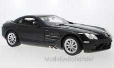 Mercedes McLaren SLR, metallic-schwarz - 1:12 MotorMax    >>NEW<<