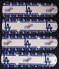"""New MLB L.A. DODGERS 42"""" Ceiling Fan BLADES ONLY"""