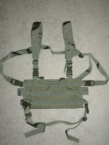 High Speed Gear AO Chest Rig - OD Green 40SCR1OD Made in the US-Go Bag Rig