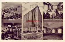 Detroit - Leland Hotel Coffee Shop Grenadier Dining Room The Lobby & other views