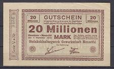 Hamborn-Neumühl - Steinkohlenbergwerk Sindicato Neumühl - 20 Millionen Mark