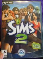 THE SIMS 2 MAIN BASE GAME CD ROM / 4 DISC VERSION - PC / WINDOWS - VGC COMPLETE