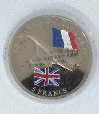 CONGO - 5 FRANCS - 2003 - Pièce Commémorative - Concorde // Qualité: fleur coin