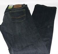 Levi Strauss Signature Men's Flex Straight Leg Jeans 30 X 32  Dark Wash Blue NWT