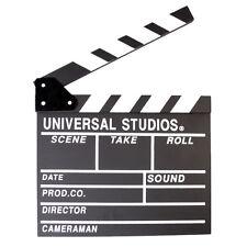 Film Movie Clapper Board Director Video Scene Cut Action Prop Clap Switch Black