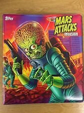 Mars Attacks Invasion Official Topps Binder