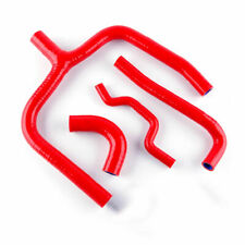 2009-2016 Kawasaki KX250F KXF250 Silicone Coolant Radiator Y Hose Pipe Kit Red