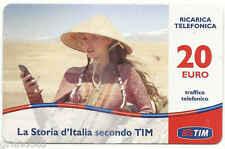 MARCO POLO RICARICA TIM LA STORIA D'ITALIA SPOT PROMO TELEVISIVO 20 EURO