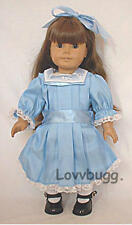Blue Winter Party Dress for 18 inch Doll Clothes American Girl Samantha Lovvbugg