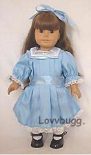 "Blue Winter Party Dress for 18"" American Girl Doll Samantha Lovvbugg Best Select"