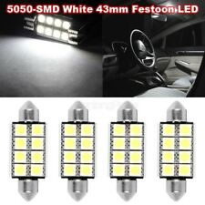 For sale 4x White 5050 LED Interior Dome Map Lights Bulbs 42mm Festoon for GMC