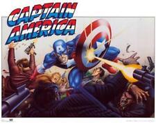 Captain America 1989 Marvel Comics Poster 22x28
