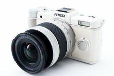 Pentax Q 12.4MP 5-15mm Lens Kit White [Exc w/8GB SD Card,Strap [241]