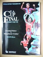 1990 FA CUP FINAL- CRYSTAL PALACE v MANCHESTER UNITED (Exc*Org)