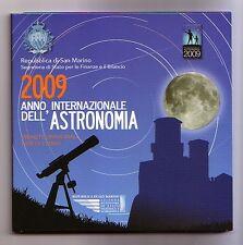 San Marino  Divisionale  2009 Anno Astronomia