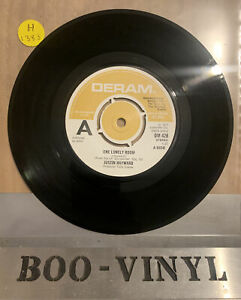 "DEMO ~Justin Hayward ~One Lonely Room UK 45 7"" single +Songwriter (Part 2) Ex+"