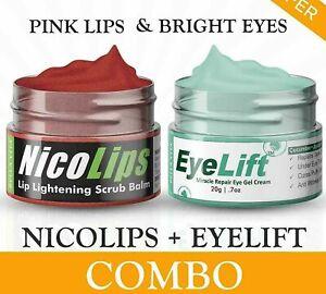 New Combo of Eye Cream - Women & Men-Lip Balm Scrub by Bella Free PosT !