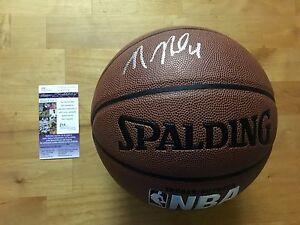 Nerlens Noel Signed Spalding NBA Basketball Philadelphia 76ers JSA Coa