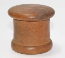 antiker Holz Apotheken Behälter  ca. 1900  #J786